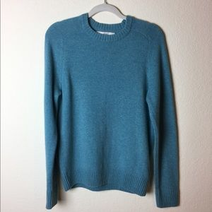 H&M Light Blue Wool Crew Neck Sweater
